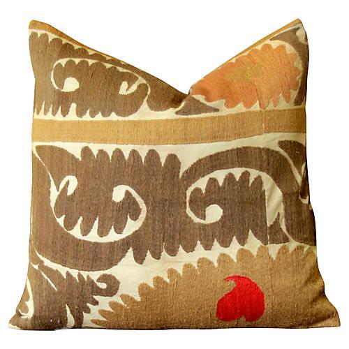 Genda Antique Suzani Pillow