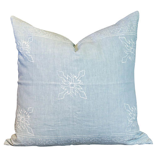Citlalee Aztec Block Print Pillow