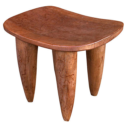 Antique 19th C. Senufo Solid Wood Tabl