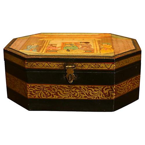 Nasir Hand-Painted Box