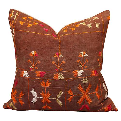 Sandya Bagh Phulkari Pillow