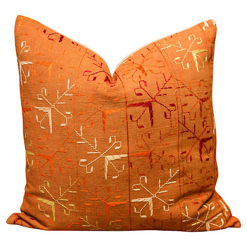 Suri Bagh Phulkari Pillow