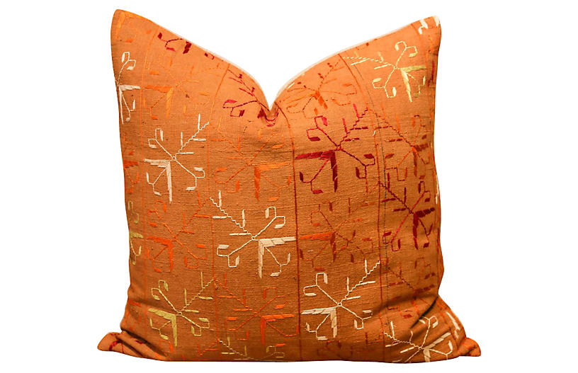 Suri Bagh Phulkari Pillow