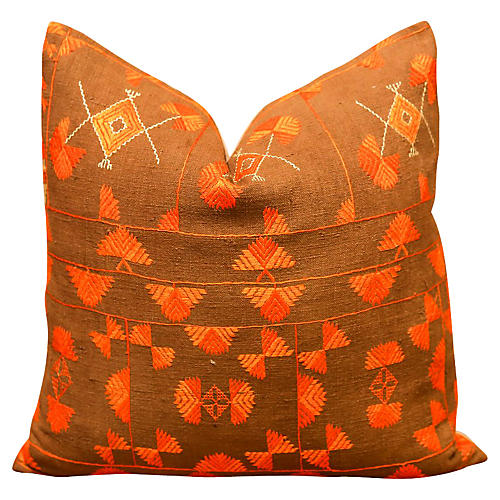 Amidhi Bagh Phulkari Pillow