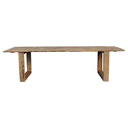 Very Long Dining Table