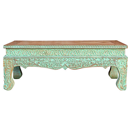 Precious Anglo Indian Opium Coffee Table