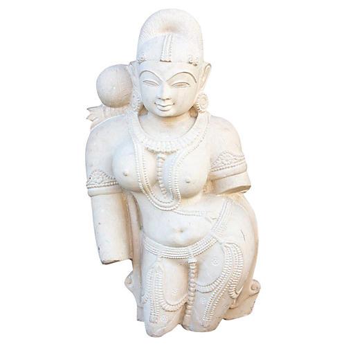 Yakshini Apsara Stone Statue