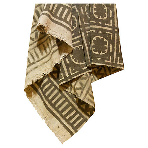Brown African Mud Cloth