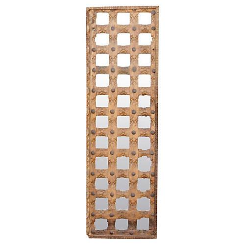 19th C. Moorish Ceiling Mirrored Panel
