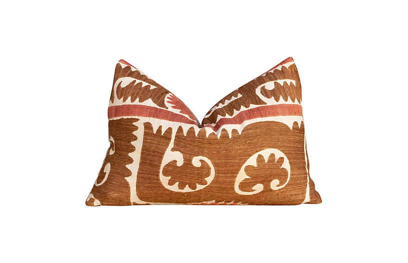 Jesna Suzani Lumbar Pillow