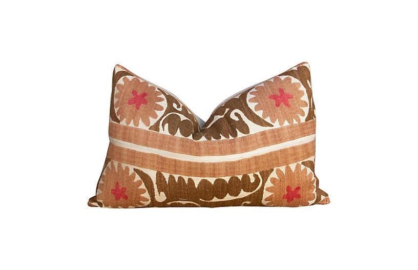 Janaki Suzani Lumbar Pillow