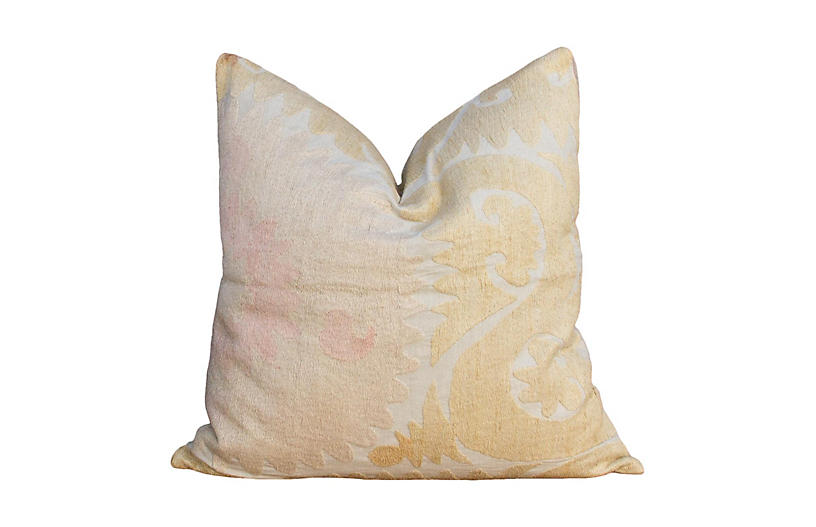 Usma Suzani Square Pillow