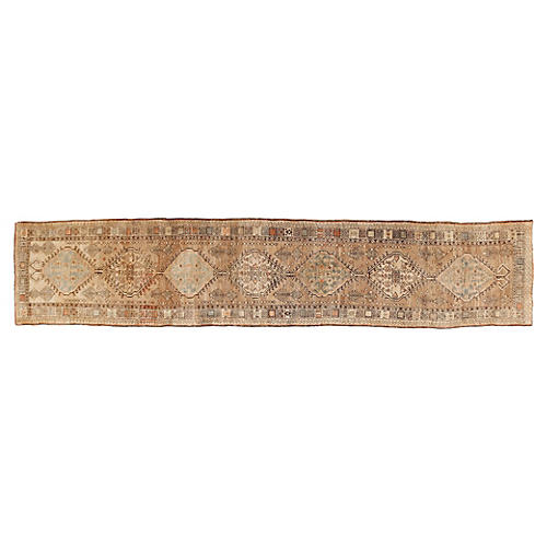 "Antique Serab Runner, 2'11"" x 15'"