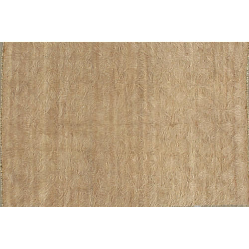 "Turkish Mohair Rug, 4'3"" x 6'4"""