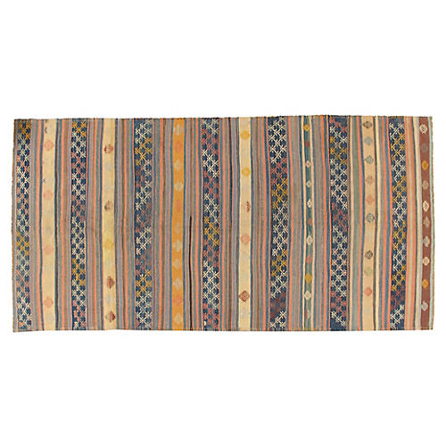 Turkish Kilim 5'8 x 11'5