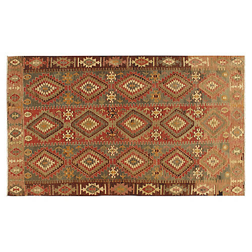 "Turkish Kilim, 5'7"" x 9'8"""