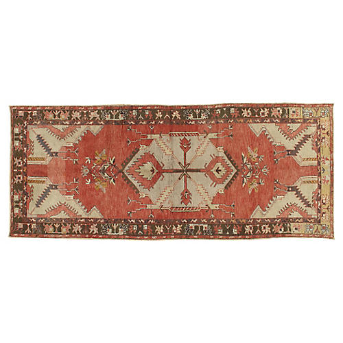 Turkish Kars Rug, 3'6 x 8'6