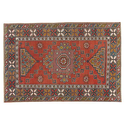 Turkish Konya Rug 5'5 x 8'3
