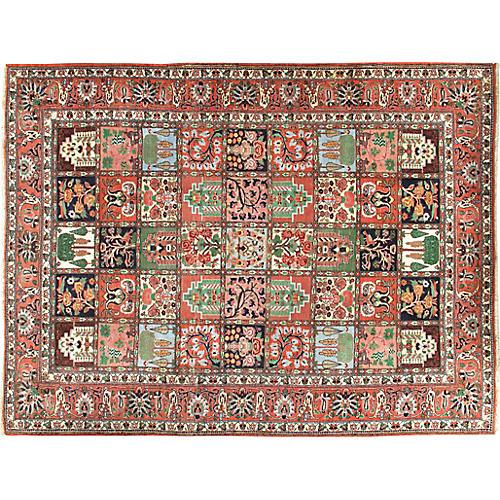 Persian Baktiari Rug 7'5 x 9'9