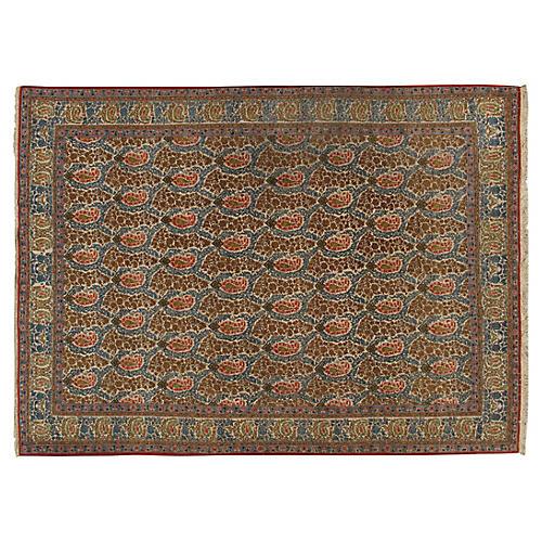 Qum Hand Woven Rug 7'2 x 9'11