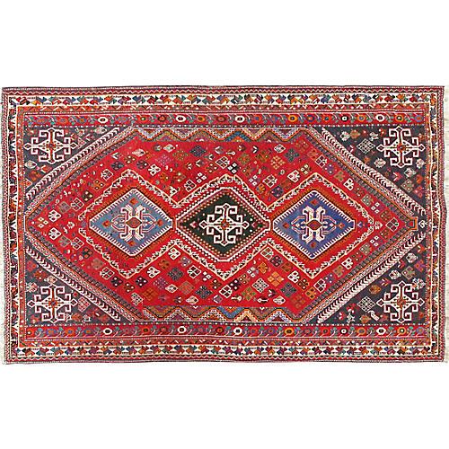 Qashagi Hand Woven Rug 5'4 x 8'6