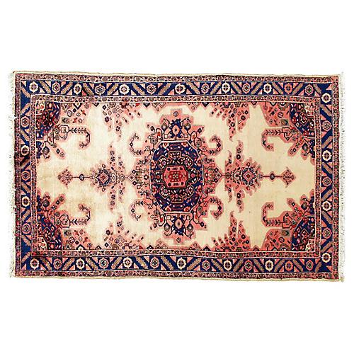 Hand Woven Persian Malayer Rug 5'2 x8'1