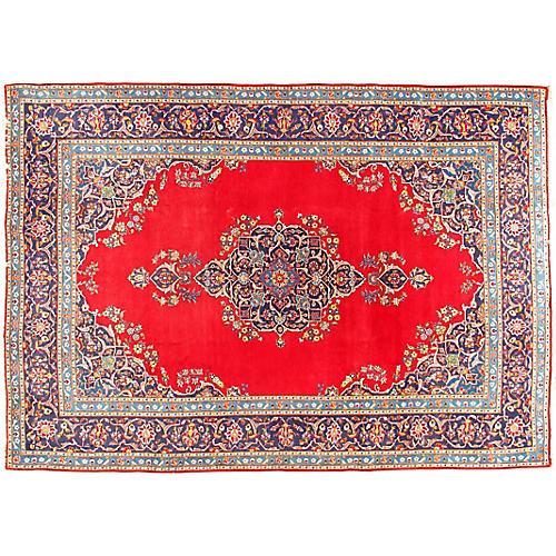 Kashan Hand Woven Rug 8' x 11'2