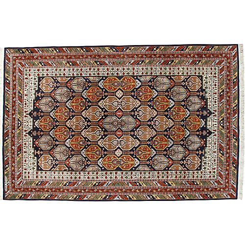 Kashmir Hand Woven Rug 6'5 x 10'