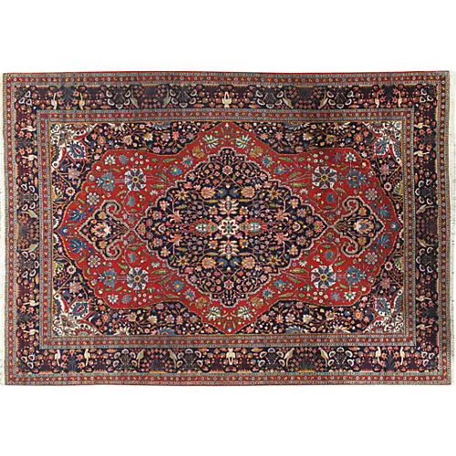 "Tabriz Carpet, 8'6"" x 11'6"""