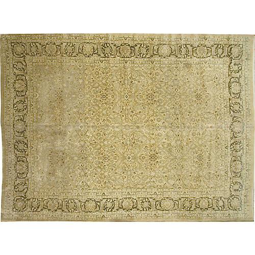 """Antique Meshad Carpet, 9'7"""" x 13'7"""""""