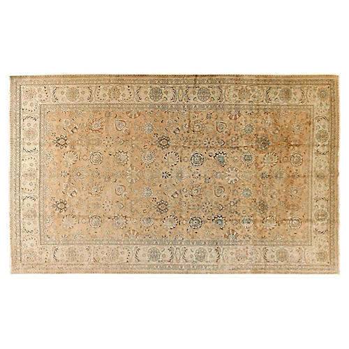 "Tabriz Carpet, 10'5"" x 15'6"""