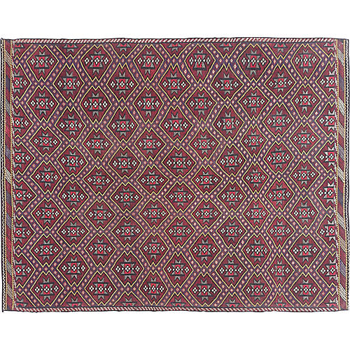 "Turkish Kilim, 6'9"" x 8'11"""