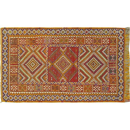"Moroccan Rug, 5'1"" x 8'4"""