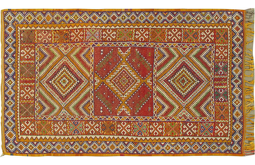 Moroccan Rug, 5'1