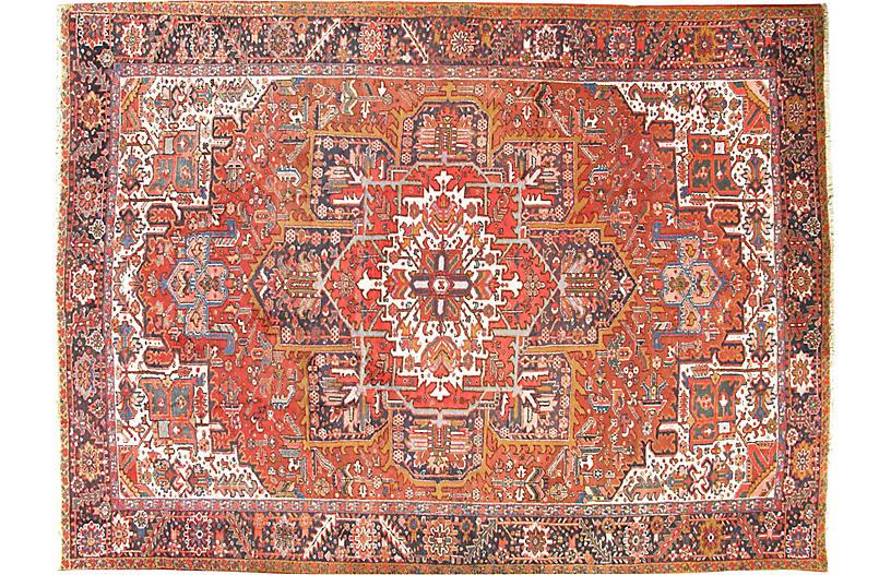 Persian Heriz Carpet, 9'3