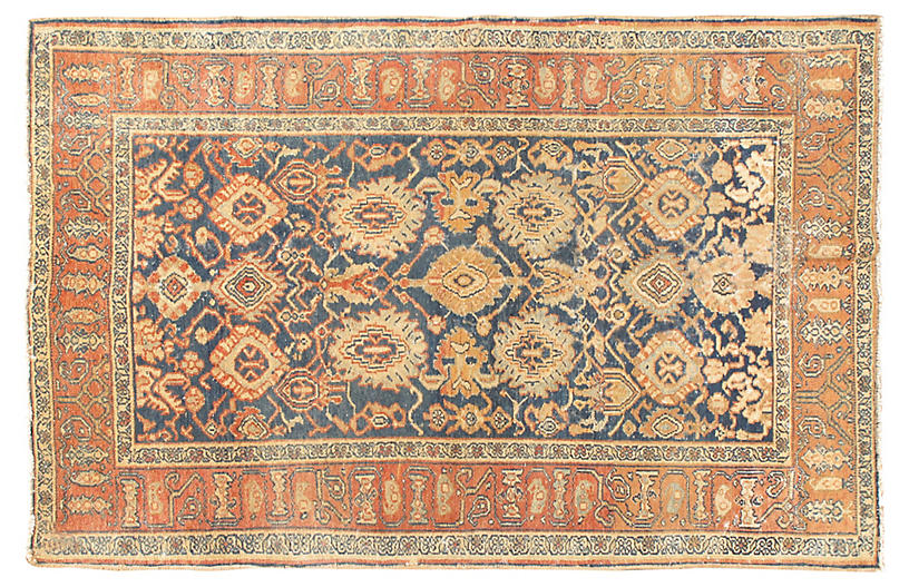 Antique Malayer Rug, 4'1