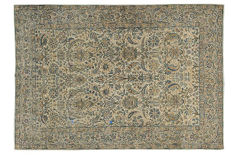 Persian Kerman Rug 5'10 x 8'10