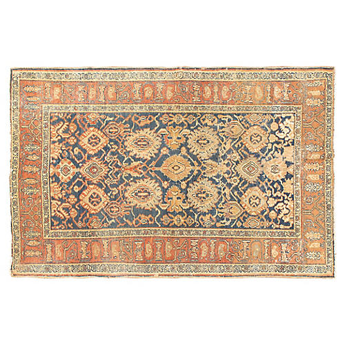"Antique Malayer Rug, 4'1"" x 6'5"""