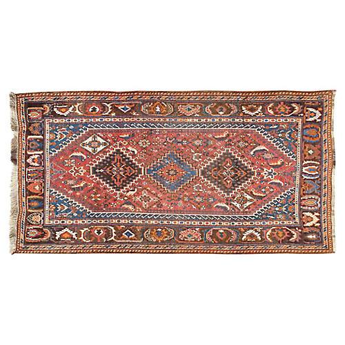 Qashgai Hand Woven Rug 4' x 7'5