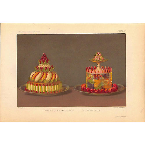 Desserts, Apples A La Parisienne, 1868