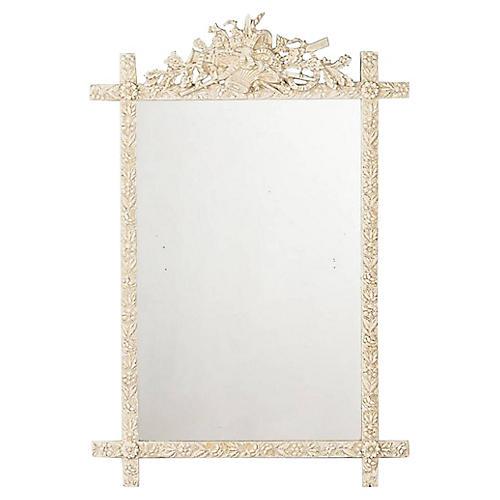 Louis XVI-Style Mirror, C. 1880