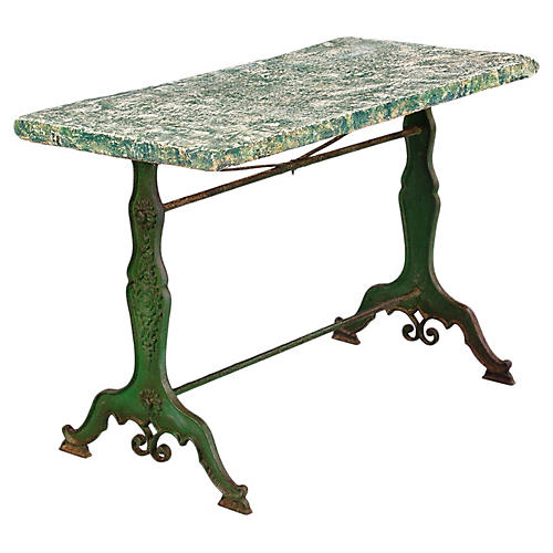 Late 1800s French Garden Table