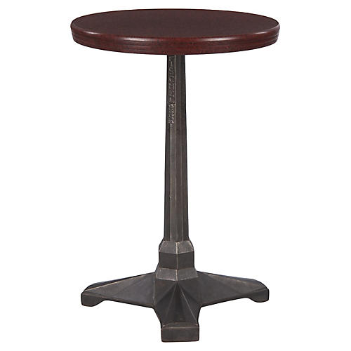 French Art Deco Bistro Table by Fischel