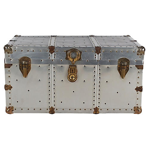 Riveted Steamer Trunk