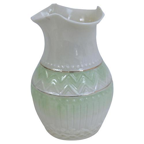 Irish Belleek Porcelain Vase