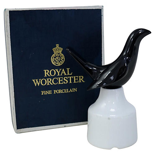 Royal Worcester Pie Bird