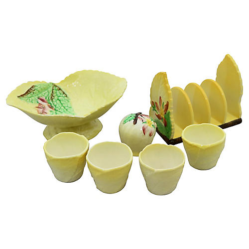 Carlton Ware Breakfast Set, 7 Pcs