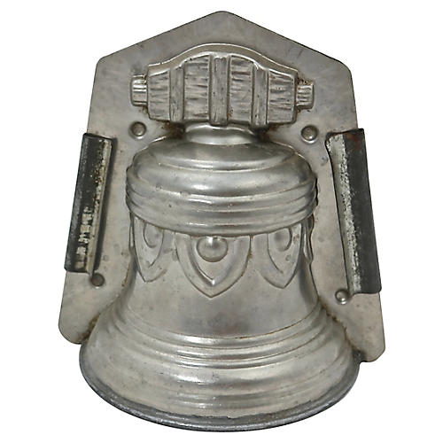 Antique French Chocolatier's Bell Mold