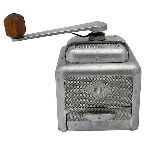 French Art Deco Coffee Grinder