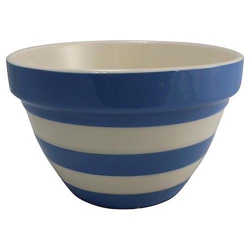 English 30oz Cornishware Bowl